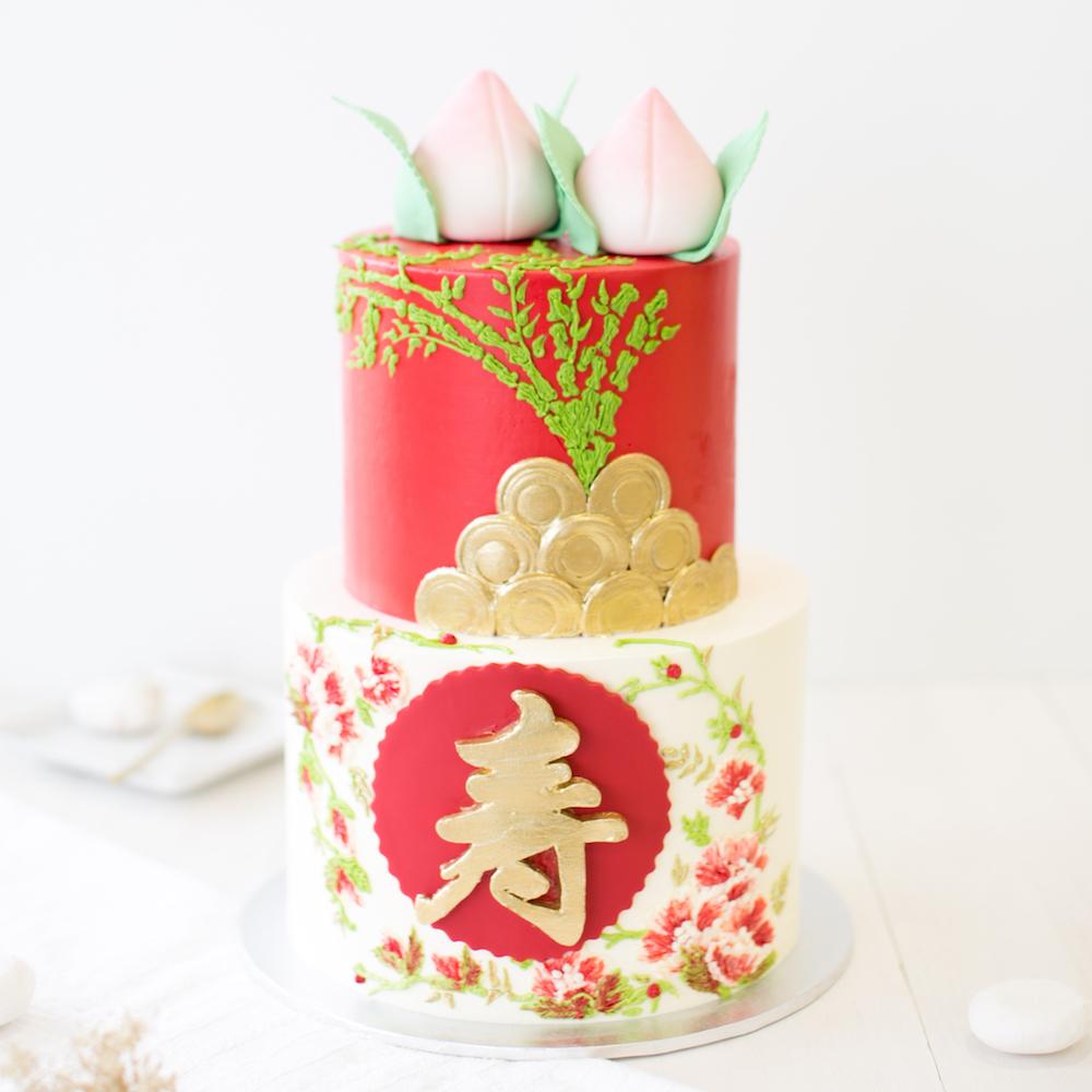 Longevity Cakes Baker S Brew Singapore