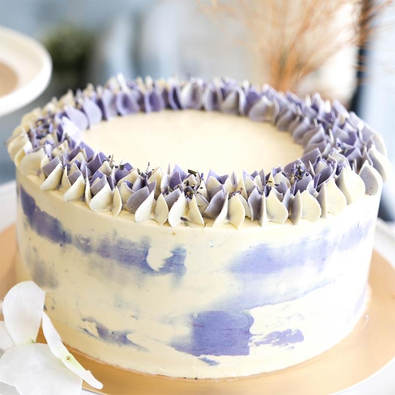 Best Earl Grey Lavender Cake Baking Class