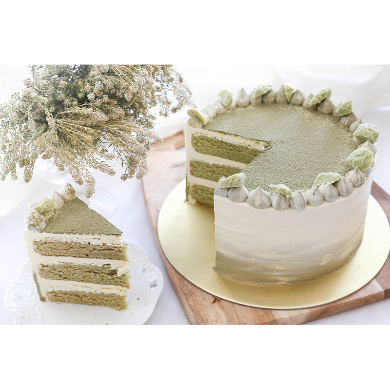 Matcha White Chocolate Cake Singapore