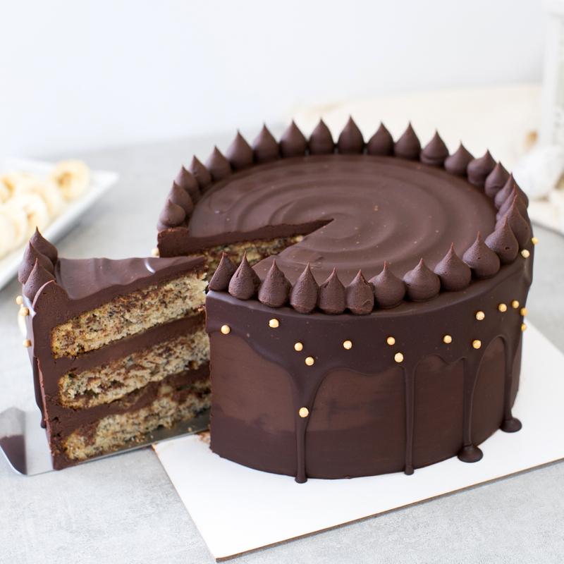 Best Chocolate Banana Cake Singapore
