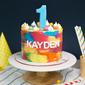 Best Kid's Colourful Rainbow Birthday Cake Singapore