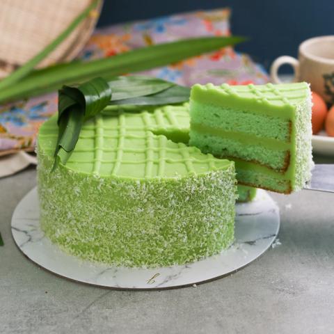 Pandan Kaya Cake 65