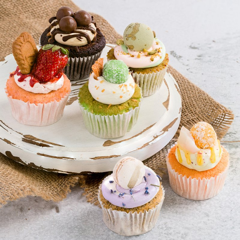6-in1 Cupcakes | Online Cake Delivery Singapore | Baker