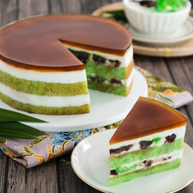 Best Chendol Cake in Singapore | Online Cake Delivery | Baker