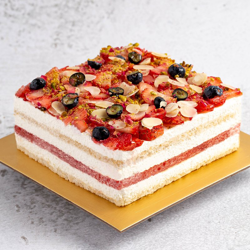 Rose-scented Watermelon Cake | Online Cake Delivery Singapore | Baker