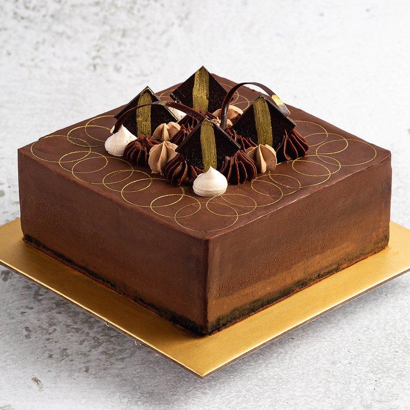 Chocolate Symphony Cake | Online Cake Delivery Singapore | Baker