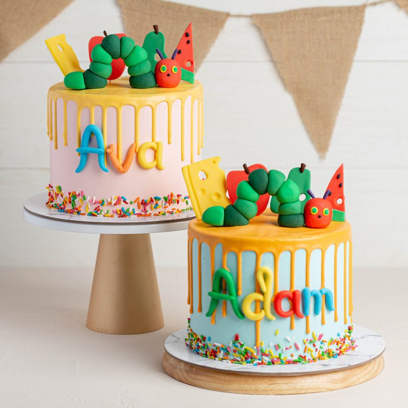 Hungry Caterpillar Cake   Online Cake Delivery Singapore   Baker