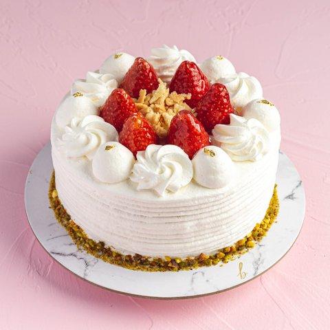Hokkaido Strawberry Shortcake