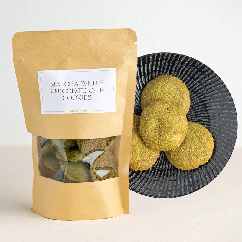 Matcha White Chocolate Chip Cookie   Online Cookie Delivery   Baker