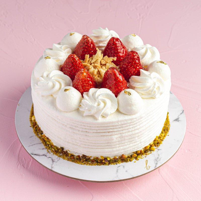 Hokkaido Strawberry Shortcake | Online Cake Delivery Singapore | Baker
