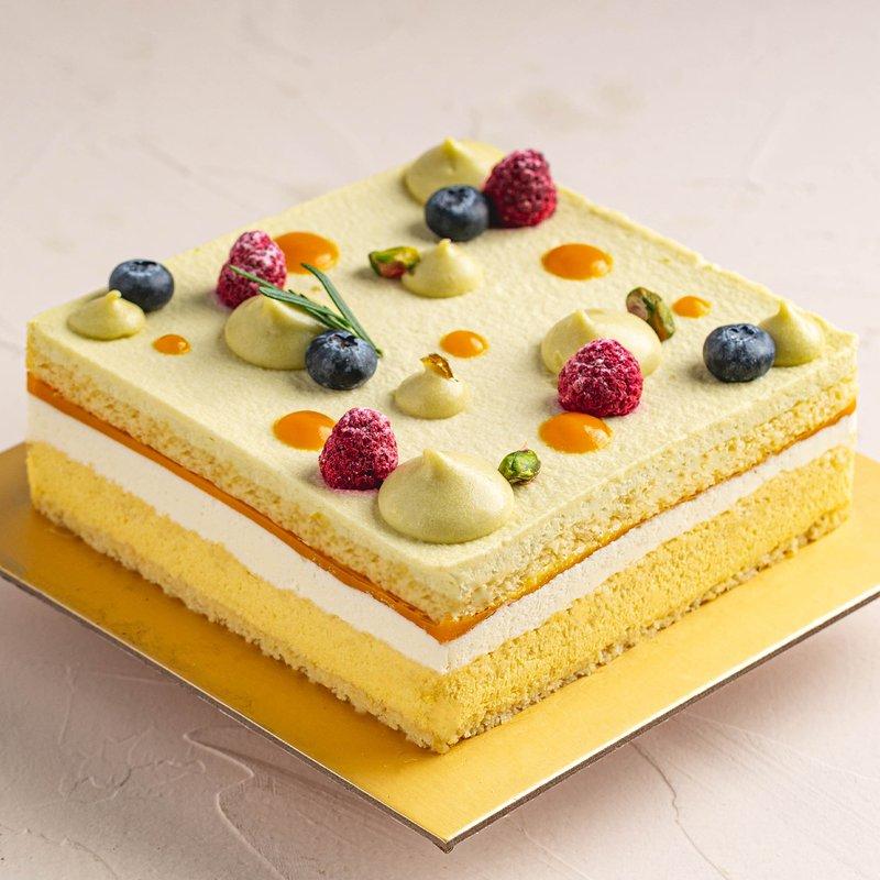 Tropical Mango Yuzu Coconut Cake | Online Cake Delivery Singapore | Baker