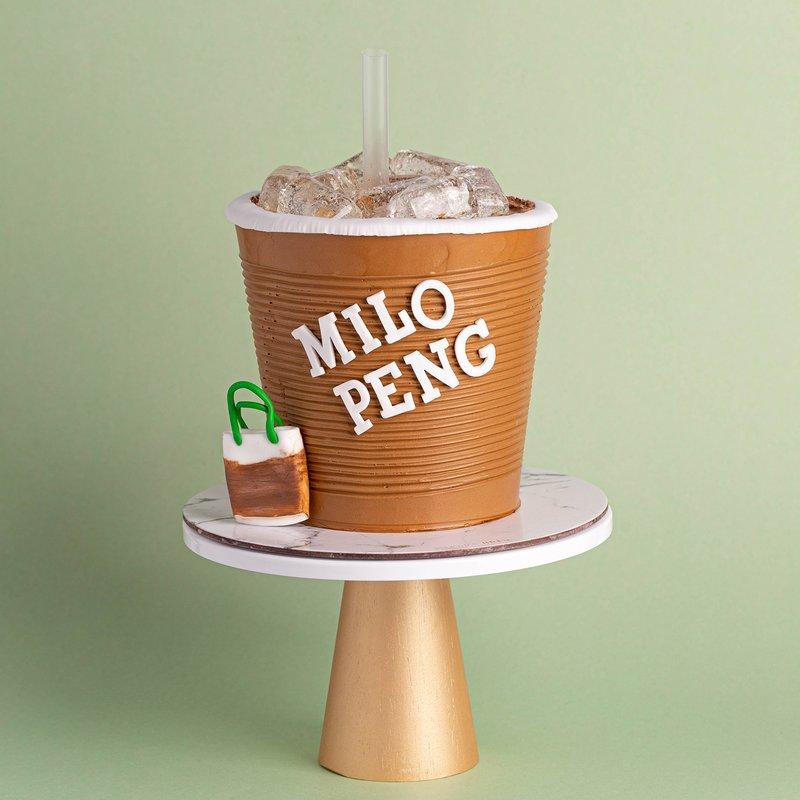 Milo Peng Cake | Customised Cakes Singapore | Baker