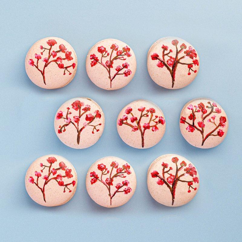 Sakura Macarons | Online Cake Delivery Singapore | Baker