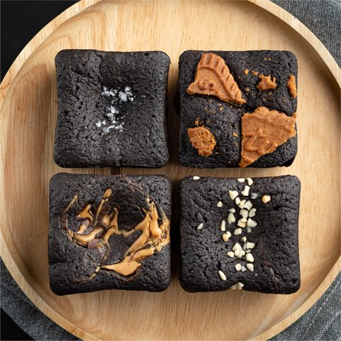 Blackout Brownies - Assorted (Box of 4)