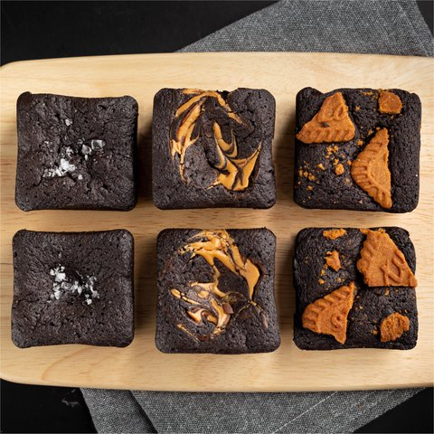 Blackout Brownies - Assorted (Box of 6)