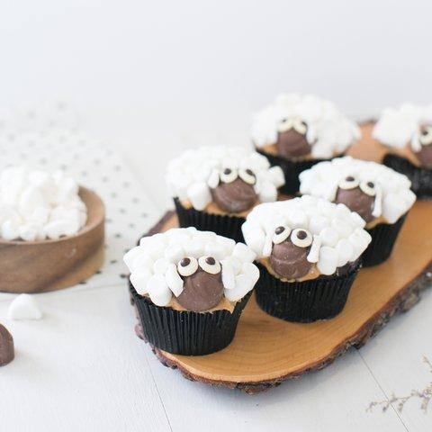 Sheepy Sheep Cupcakes