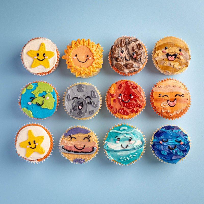 Space Cupcakes | Customised Cupcakes Singapore | Baker