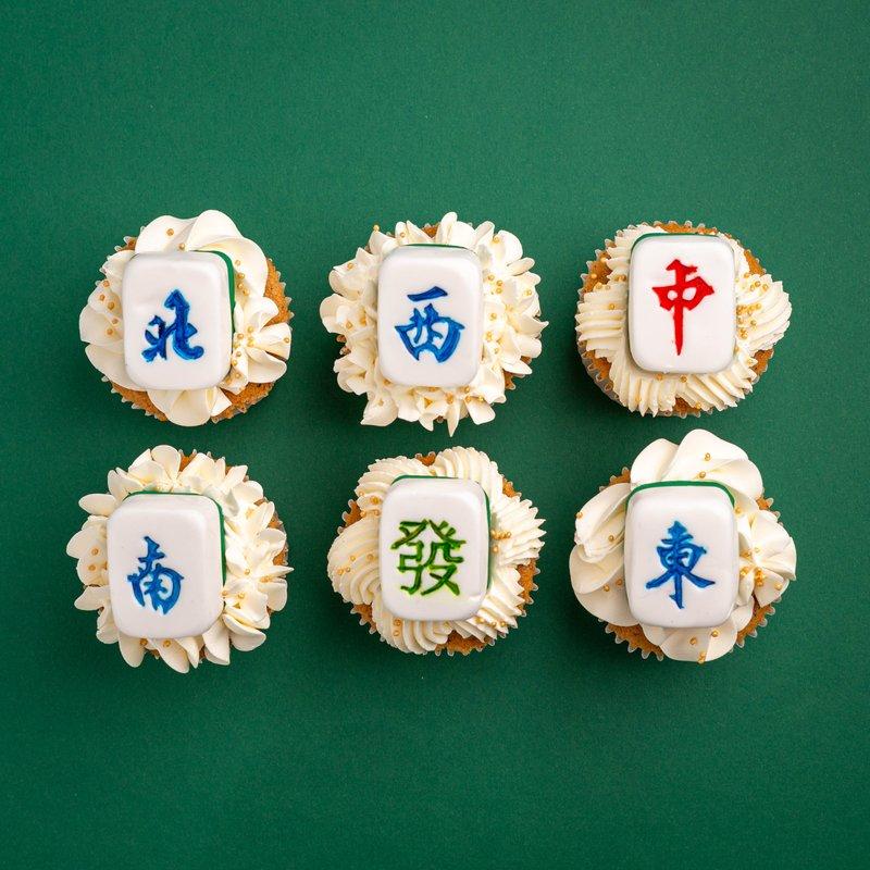 Mahjong Cupcakes | Customised Cupcakes Singapore | Baker