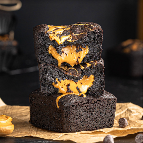 Blackout Brownies- Peanut Butter (up to 6 pcs)