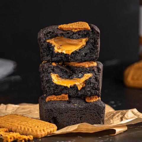 Blackout Brownies- Lotus Biscoff (up to 6 pcs)