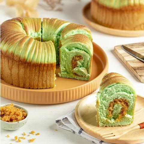 Pandan Wool Bread 10