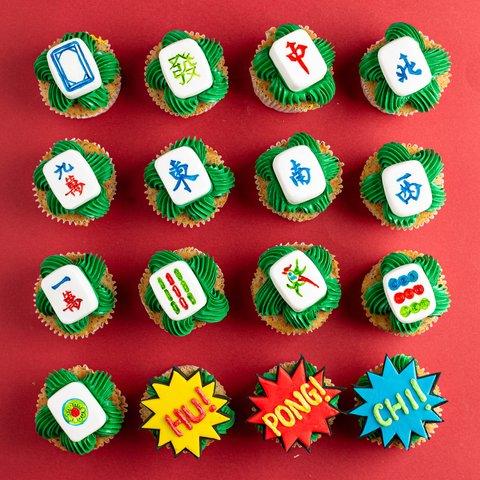 Heng Heng Mahjong 13 幺 Cupcakes