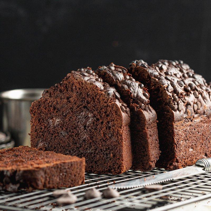 Dark Chocolate Loaf Cake | Online Cake Delivery Singapore | Baker