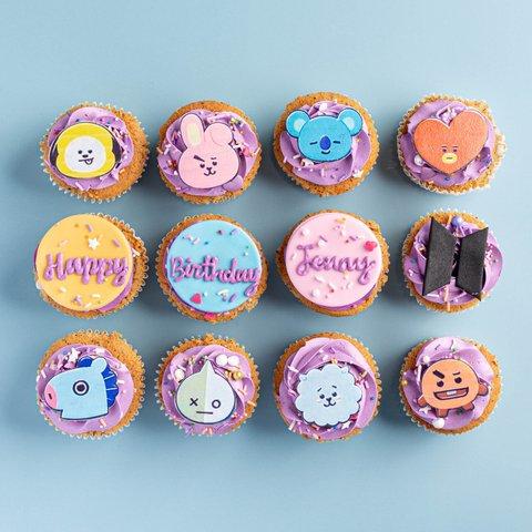 BT21 Cupcakes