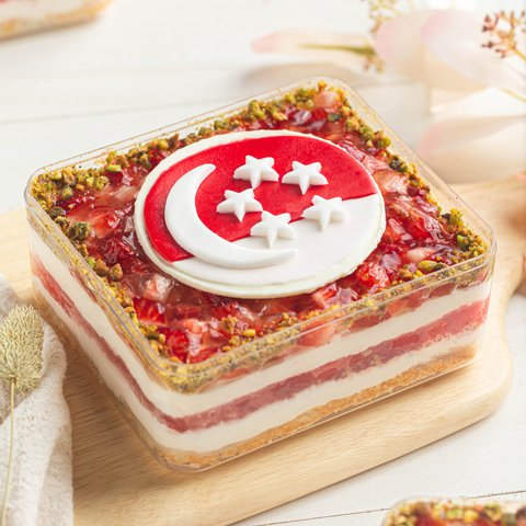 [SG56] Mini Rose-scented Watermelon Cake