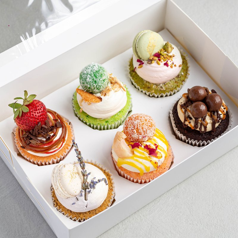 6-in-1 Cupcakes   Online Cupcake Delivery Singapore   Baker