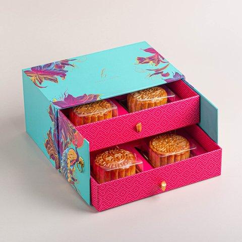 Oriental Jade Mooncakes (Assorted, Box of 4)