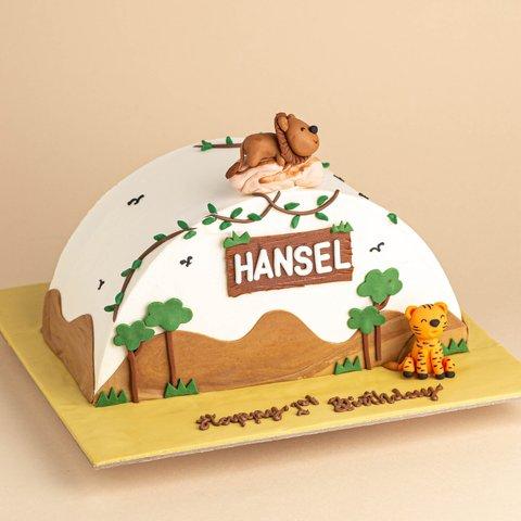 Half Cake Series - Desert Safari Animals
