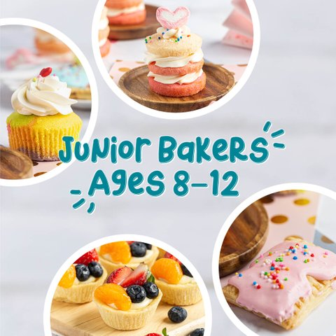 Junior Bakers' Camp (Age 8 - 12 Years Old)