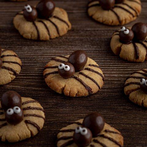Spidey Peanut Butter Cookies