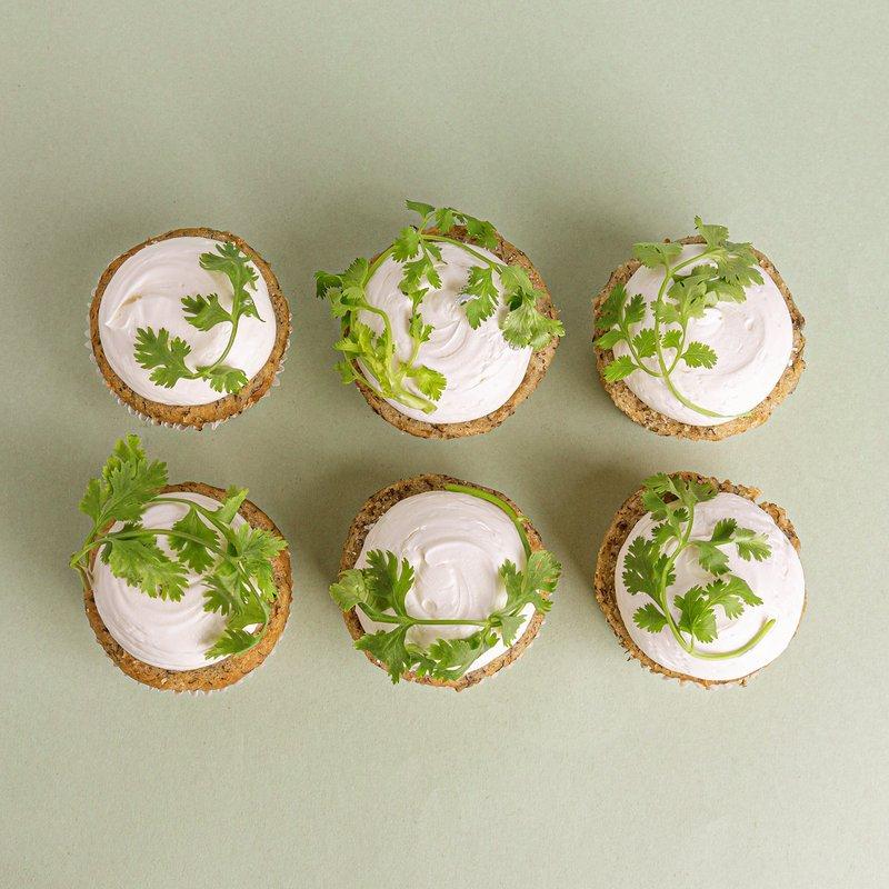 Coriander Cupcakes   Coriander Cake Collection   Baker