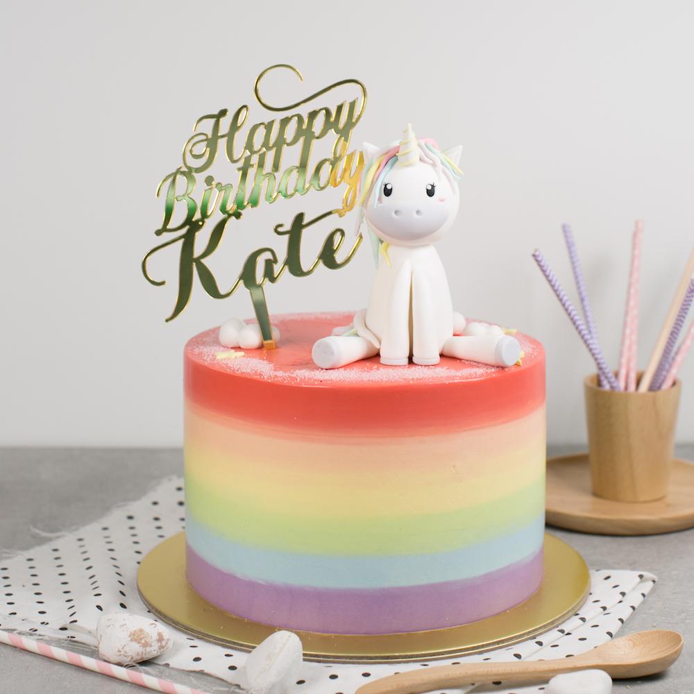 Kids Birthday Cake Bakers Brew Singapore